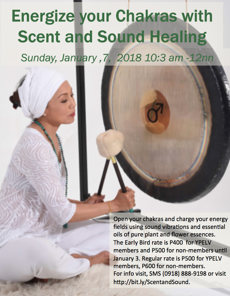 Energize your Chakras with Scent and Sound