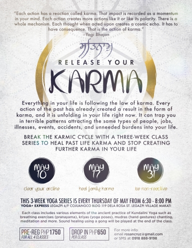 Break the karmic cycle with a three-week class series to heal past life karma and stop creating further karma in your life.